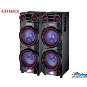 Aiwa ADA-3200 2Ch Wooden Active Tower Sound System