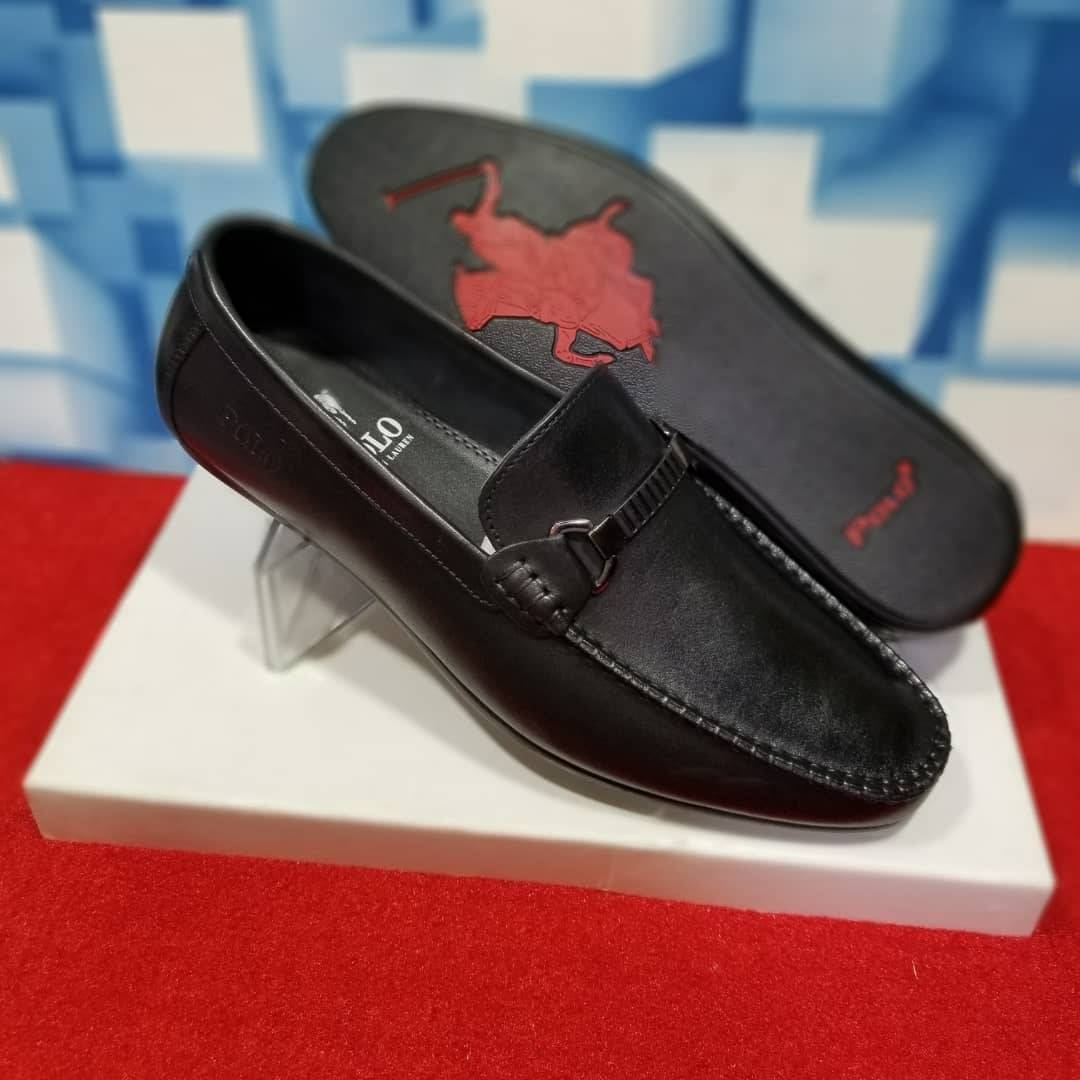 Polo Ralph Lauren Woodley Leather
