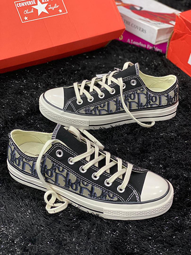 Low-Top CHRISTIAN DIOR CONVERSE Sneaker White and Black